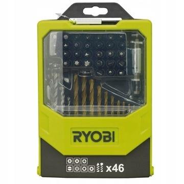 Ryobi RAK46MIX Zestaw bitów i wierteł 46 elementów