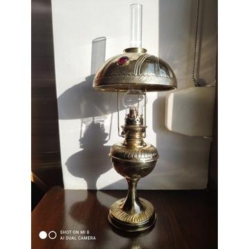 "Stara duża francuska lampa naftowa ""Paryżanka"""