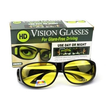 Okulary dla kierowców HD Polaryzacja UV400 kat.1