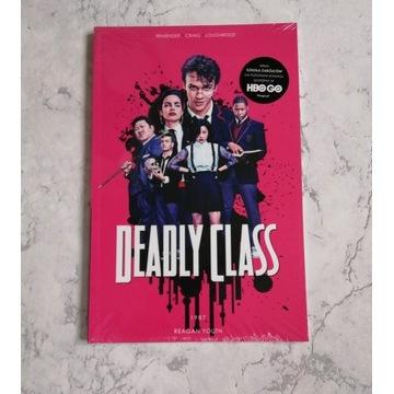 Deadly Class tom 1 - okładka filmowa