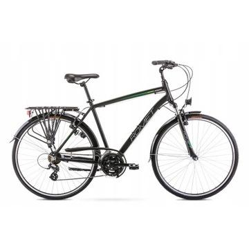 """rower Wagant 19"""" czarno zielony 2020r"""