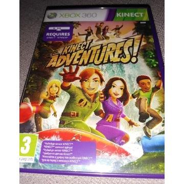 Kinect ADVENTURES!, wersja pudełkowa PL, XBOX360