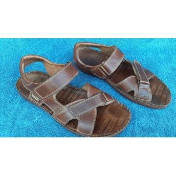 Sandały PICOLINOS Hiszpania skóra naturalna 42