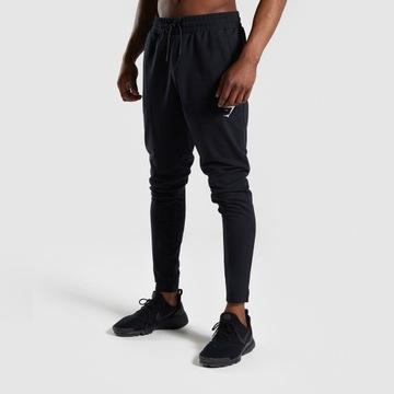 Spodnie GYMSHARK Critical jogger black roz.M