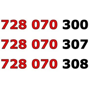 728 070 30x ŁATWY ZŁOTY NUMER STARTER x 3