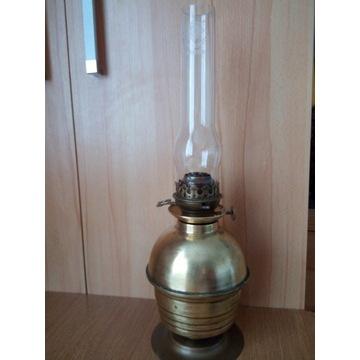 Lampa naftowa mosiądz Matador stara