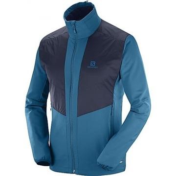 Bluza kurtka Salomon Active Wing Jkt M Blue