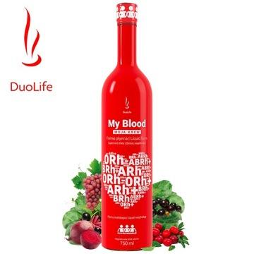 DuoLife MY BLOOD MOJA KREW płynna morfologia 750ml