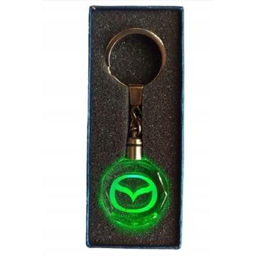 Brelok LED Mazda + pudełko prezentowe