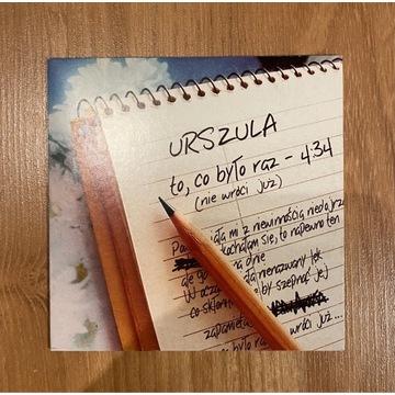 """Urszula """"to,co było raz"""" singiel 2002"""