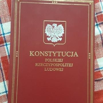 Konstytucja PRL Książka i Wiedza  1976 r.