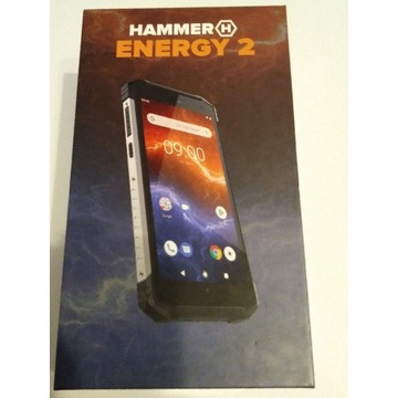 Nowy Pancerny Smartfon Hammer Energy 2 + 2x szkło
