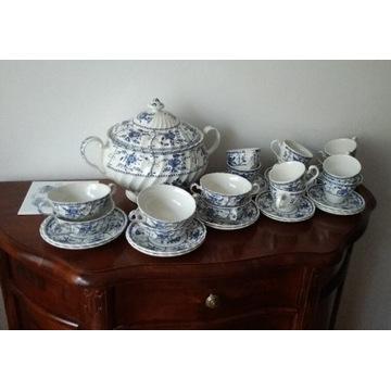 Serwis do kawy/herbaty/zupy Angielski porcelana