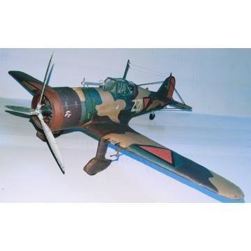 Fokker D.XXI w skali 1-33  - gotowy model
