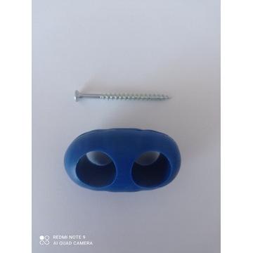 Łącznik równoległy  do lin fi 16 mm + wkręt