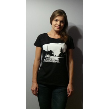T-shirt TWARÓG WE MGLE damski rozmiar M