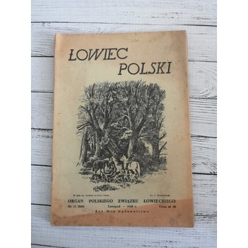 Łowiec Polski 1948 r. Nr.11 Listopad