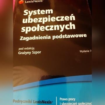 System ubezpieczen społecznych.  Szpor