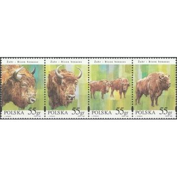 Żubry 3481-3484 ** 1996 rok