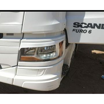 Brewki SCANIA  euro 6 komplet na lampy