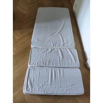 Materac piankowy 80x200 do łóżka Ikea Minnen