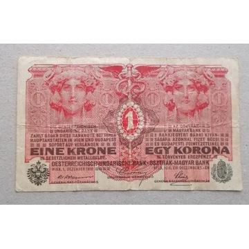 Austro-Węgry 1 korona 1916
