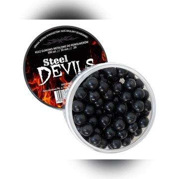 KULE GUMOWE DARK DEVILS DO REWOLWERÓW 10 MM