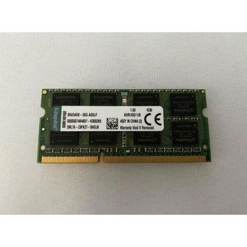Kingston DDR3 SODIMM 1x8GB 1600MHz CL11 KVR16S11/8