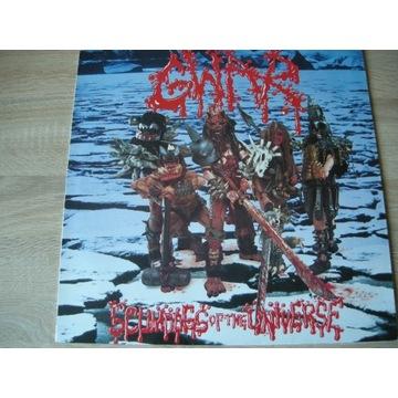 GWAR - SCUMDOGS OF THE UNIVERSE - LP