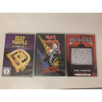 Płyty DVD zespołów rockowych