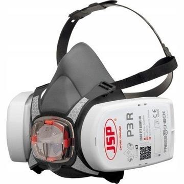 Półmaska oddechowa  FORCE 8 JSP i  kpl filtrów P3