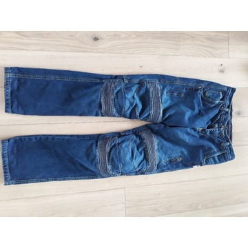 Spodnie motocyklowe Jeans Redline idealne 30/34
