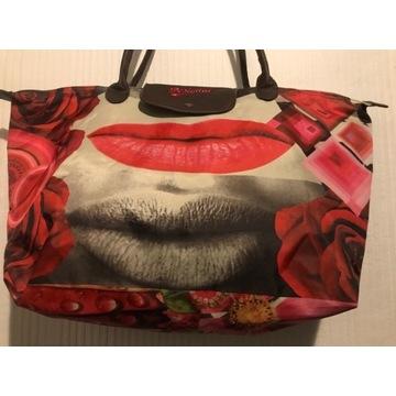 Unikatowa torba typu shopper, firmy Desigual. Nowa
