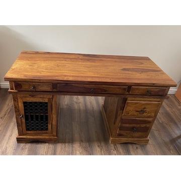 Stylowe biurko z palisandru