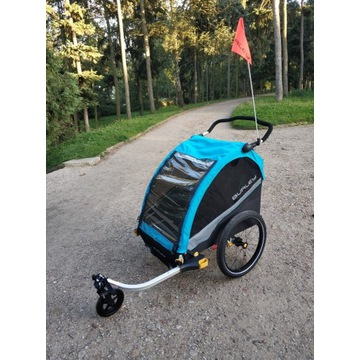 Nowa przyczepka rowerowa Burley D'Lite X