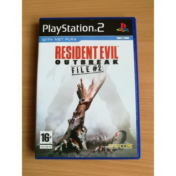 PS2 Resident Evil Outbreak File #2 Playstation 2