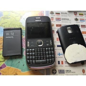 Nokia model 302, nie testowany