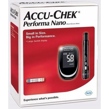 Accu Chek Performa Nano zestaw +50 pasków
