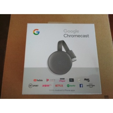 Nowy Google Chromecast 3 Smart TV Android wifi