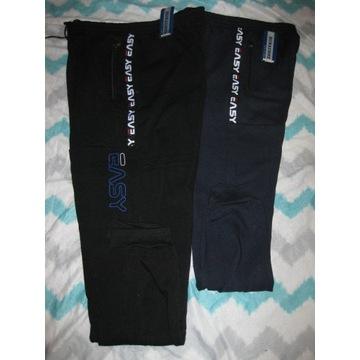 Męskie spodnie ocieplane