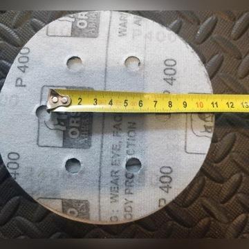 Krążki ścierne na rzep ORSO P400/P220 - 150mm