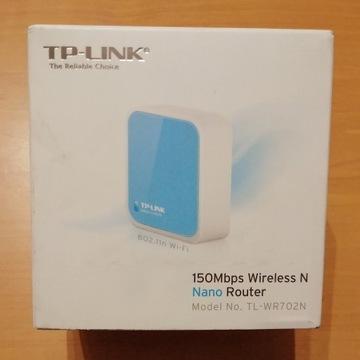 Router nano TP-Link TL-WR702N mini Polsat | GRATIS
