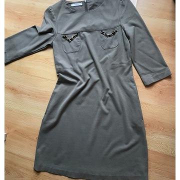 sukienka VICOLO     KHAKI  R.36 S