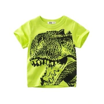 NOWA koszulka z dinozaurem roz. 110