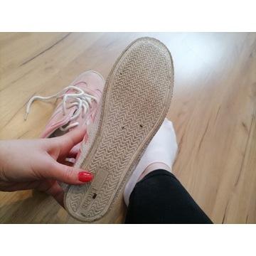 buty damskie adidasy noszone używane fetysz stóp