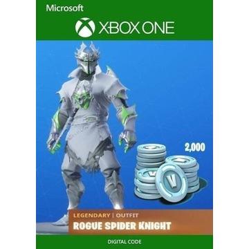 Kod do skina Rogue Spider i 2000 v dolcow (Xbox)