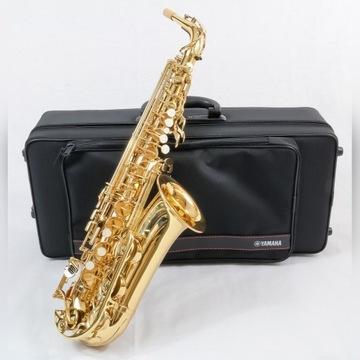 Yamaha YAS-280 saksofon altowy+PEŁNY ZESTAW