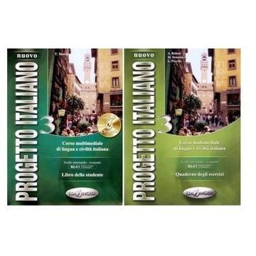 Progetto Italiano Nuovo 3 KOMPLET + CD EDILINGUA