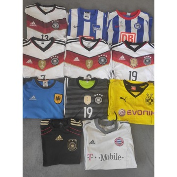 Zestaw Koszulek Niemcy Borussia Bayern Gotze Ozil