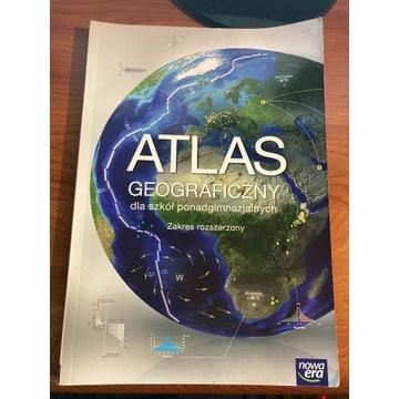 Atlas geograficzny zakres rozszerzony